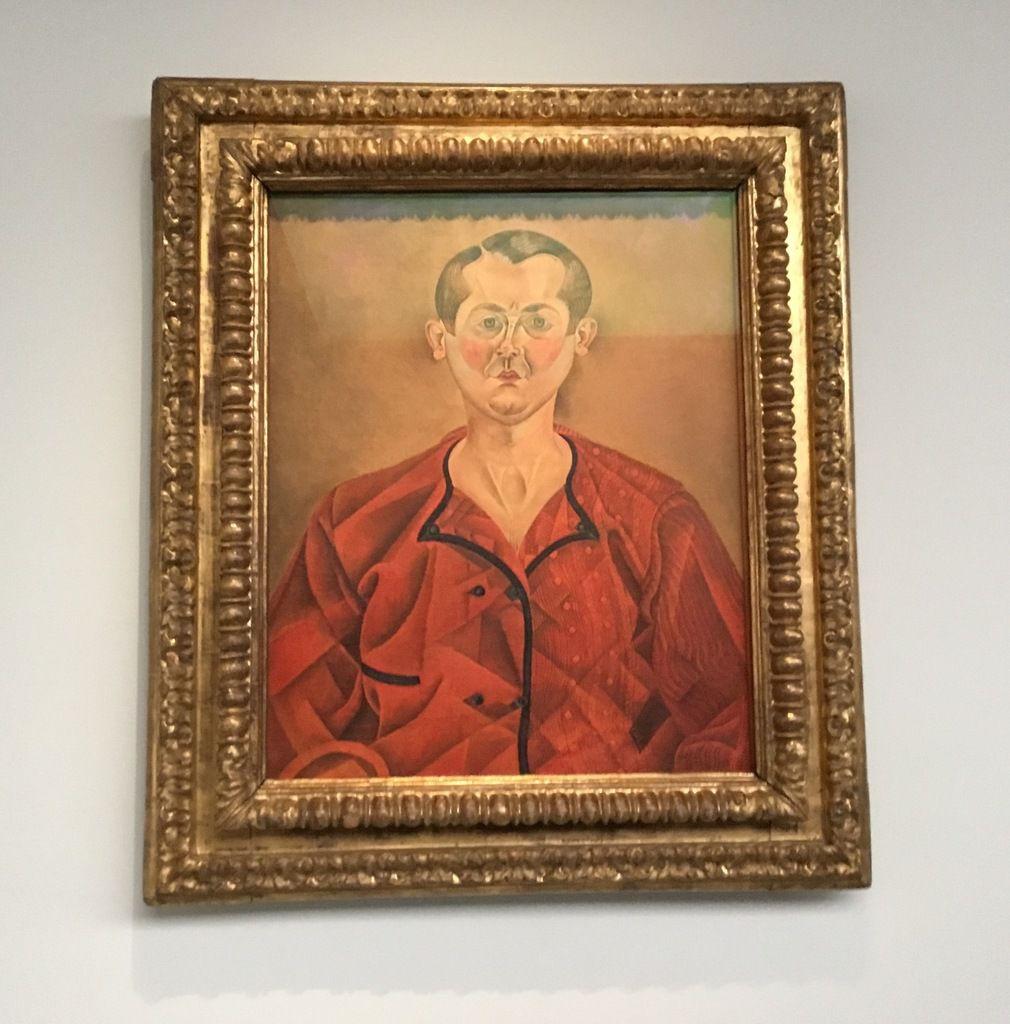 Joan Miró, Autoportrait, 1919, Huile sur toile, 73 x 60 cm, Paris, Musée national Picasso