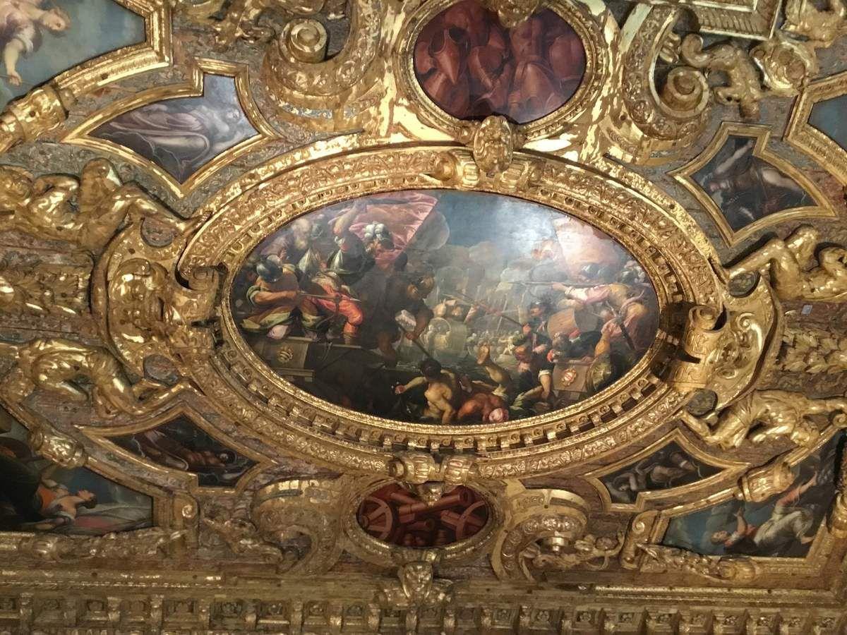 Francesco Da Ponte detto Bassano, les Vénitiens conquièrent Padoue (1583-1584), Huile sur toile