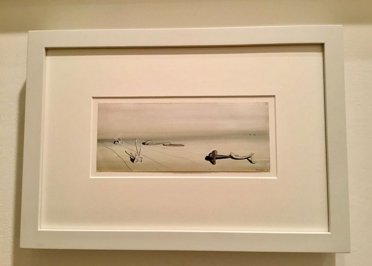 Yves Tanguy (1900-1955), Untitled, 1938, Tempera on paper