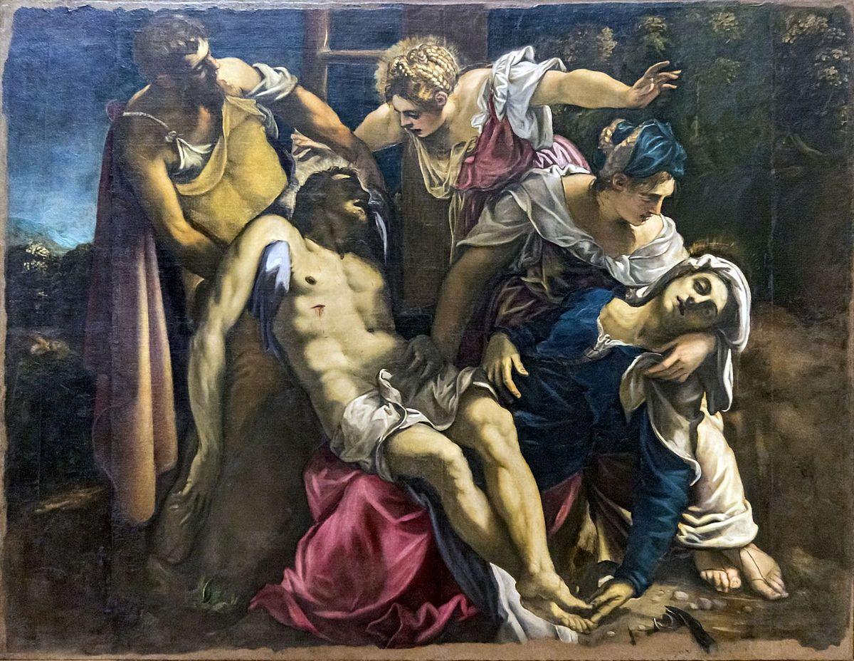 The Deposition of Christ, 1562 c., Venise, Accademia, 294 x 227 cm © Internet
