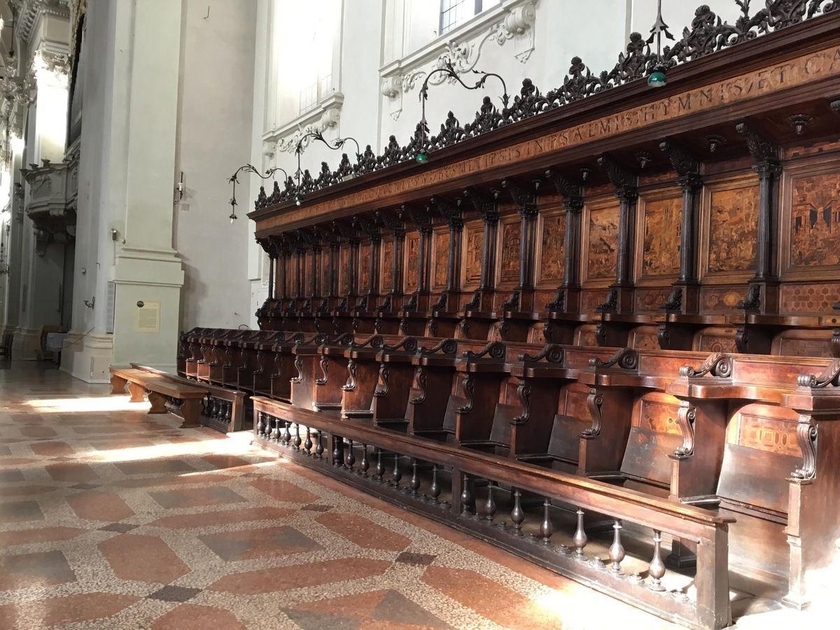 Stalles des moines (1541-1551)