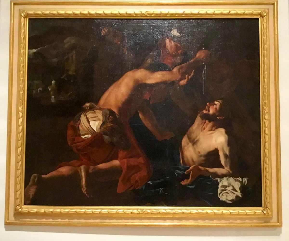 Matthias Stom (ou Stomer) (c. 1589-90-c. after 1650), The Parable of the Good Samaritan, c. 1628, Oil on canvas