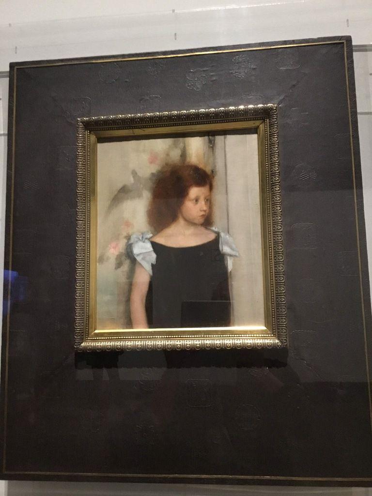 Gabrielle Braun, 1886, Huile sur toile, Belfius Art Collection