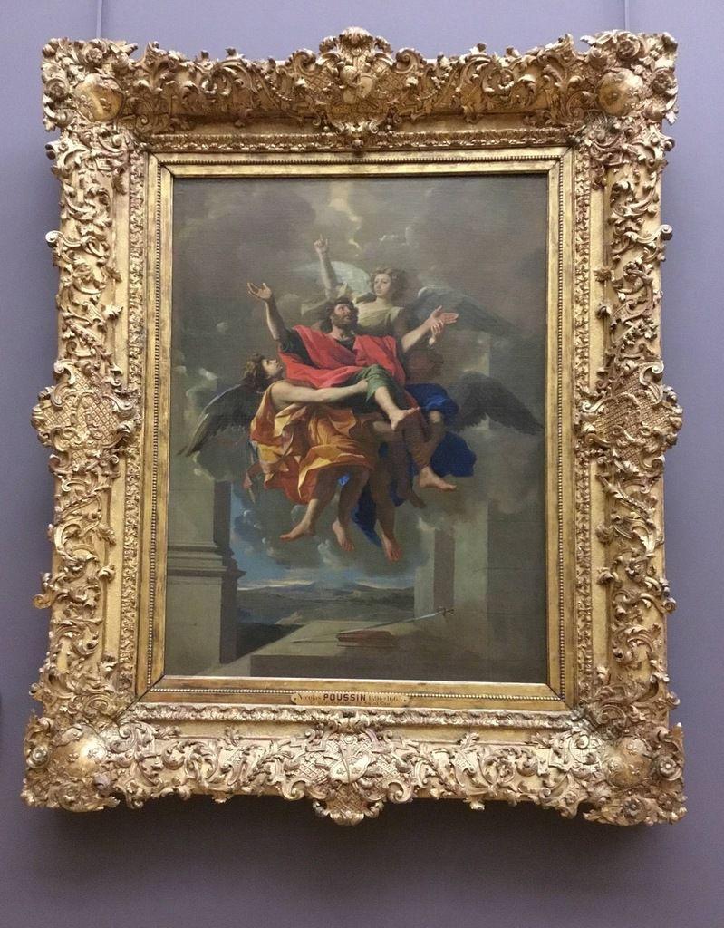 Nicolas Poussin (Les Andelys, 1594 – Rome, 1665), le Ravissement de saint Paul, Huile sur toile, 1649-1650