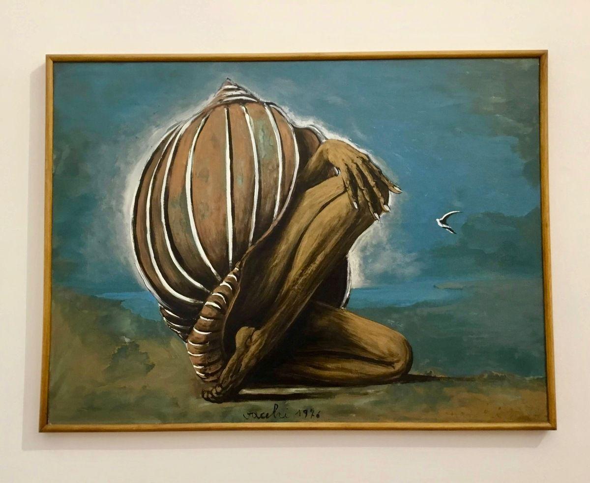 Sergio Vacchi, Nascita di Venere, 1976
