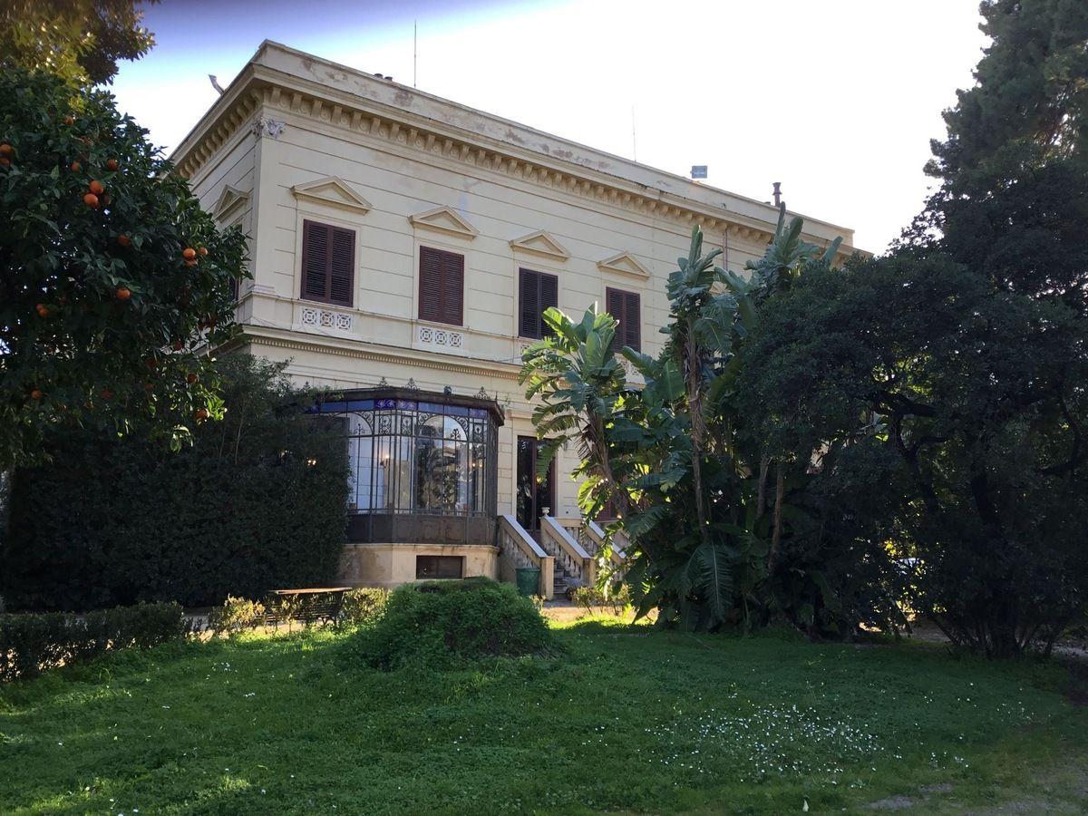 Palerme, villa Malfitano