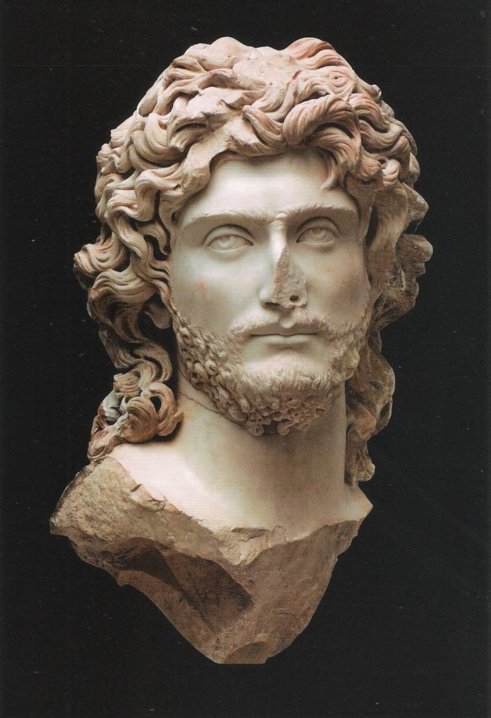 Portrait of a ruler, probably Sauromates II, King of the Bosporan Kingdom. Around the end of the 2nd cent. AD