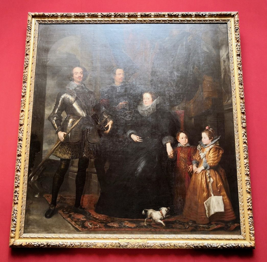 Sir Anthony van Dyck, The Lomellini Family, about 1625-27, Oil on canvas