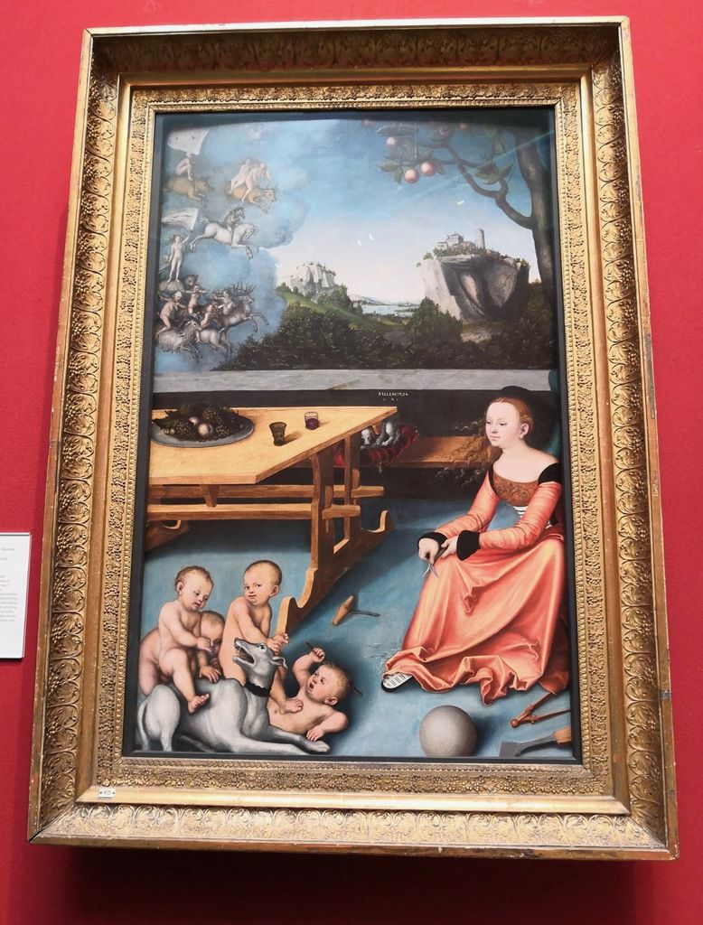 Lucas Cranach, An Allegory of Melancholy, 1528, Oil on panel