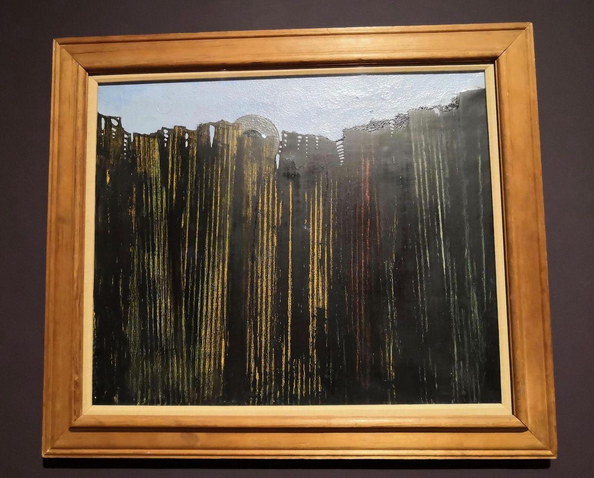 Max Ernst, la Forêt, c. 1928, Oil on canvas