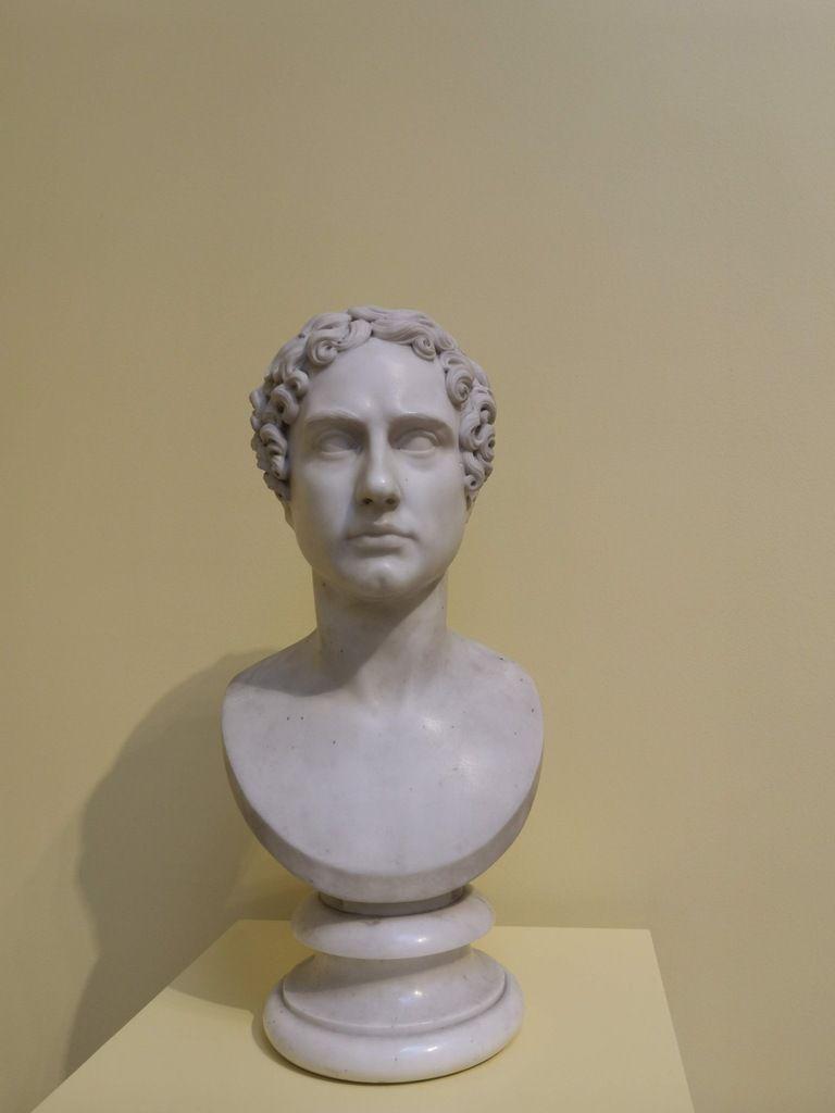 George Gordon, 6th Lord Byron (1788-1624), attributed to Bertel Thorvaldsen, marbre, made around 1816