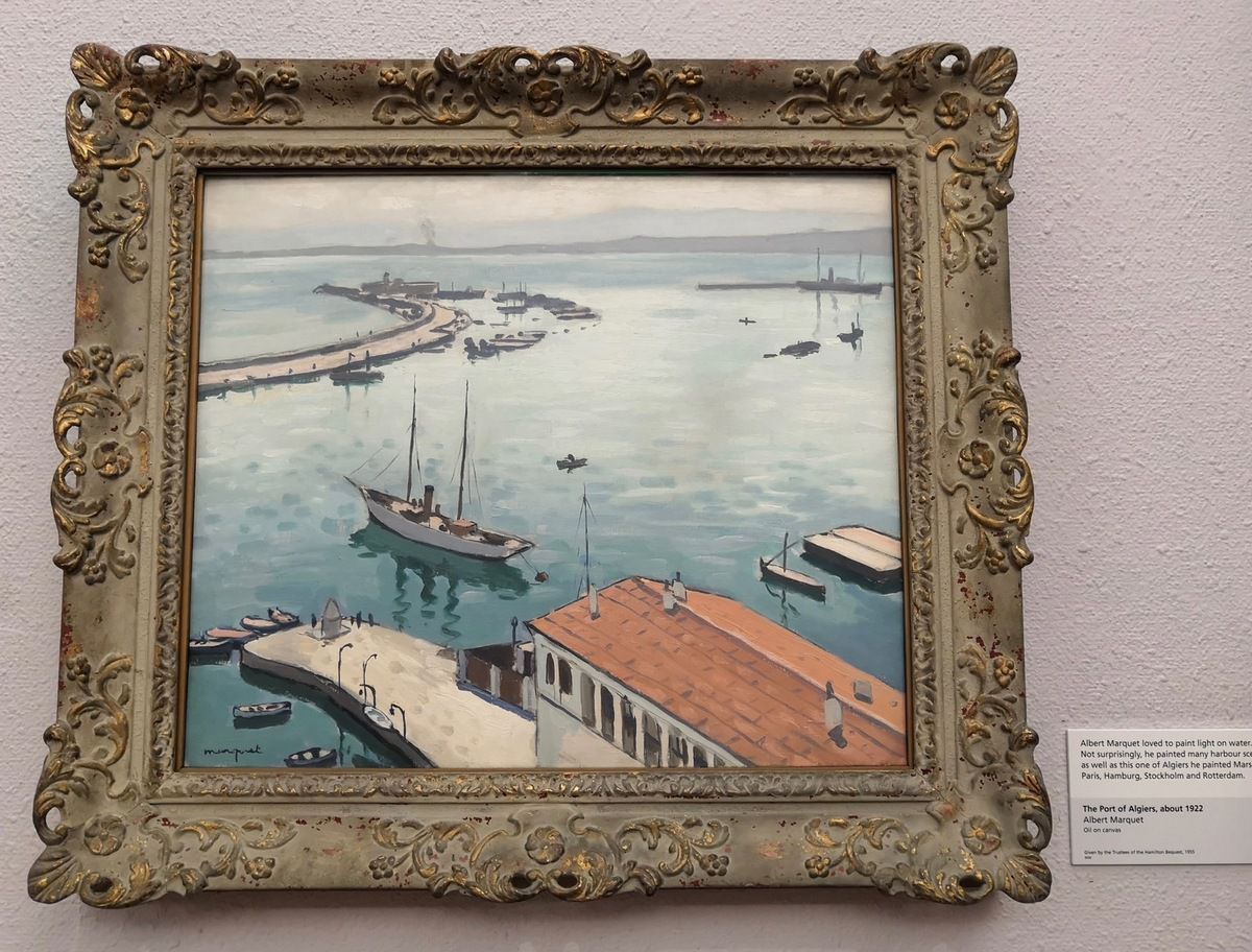 Albert Marquet, The Port of Algiers, about 1922, Oil on canvas