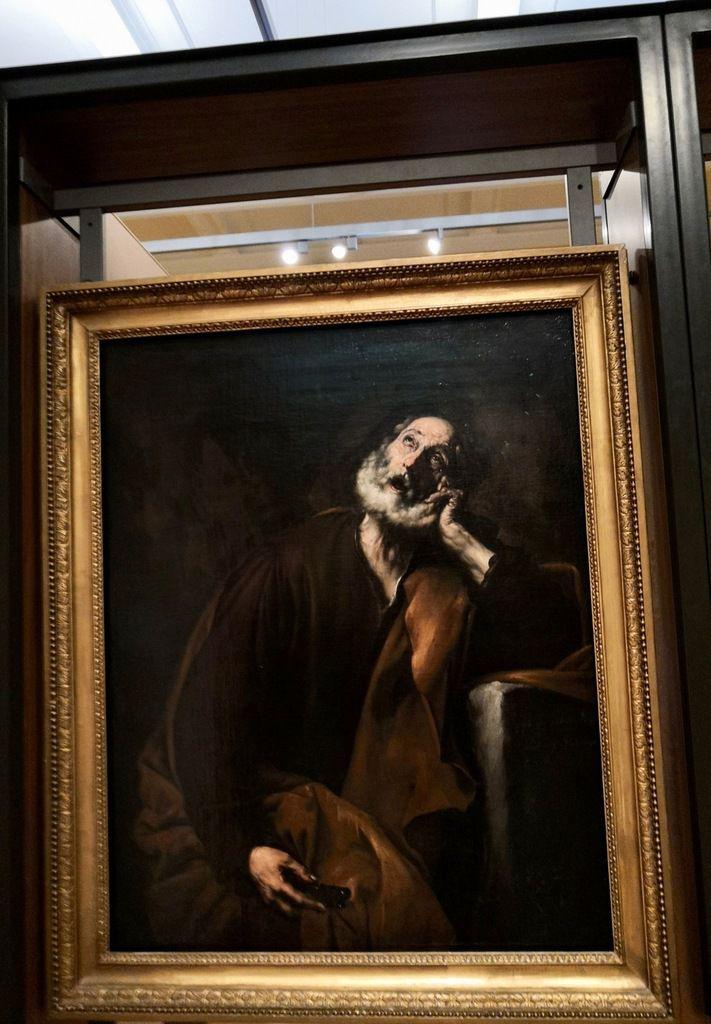 Jusepe de Ribera, Saint Peter Repentant, 1628, Oil on canvas