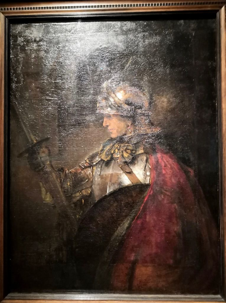 Rembrandt, A Man in Armour — possibly Alexander the Great, 1655 or 1659, Oil on canvas