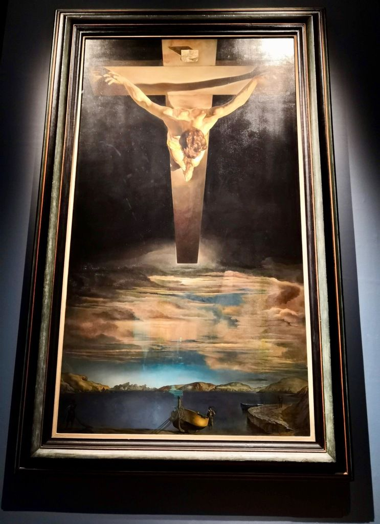 Salvador Dali, Christ of St John of the Cross, 1951, Oil on canvas