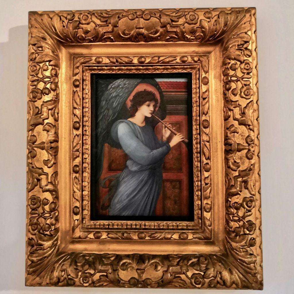 Edward Burne-Jones, The Angel, 1881