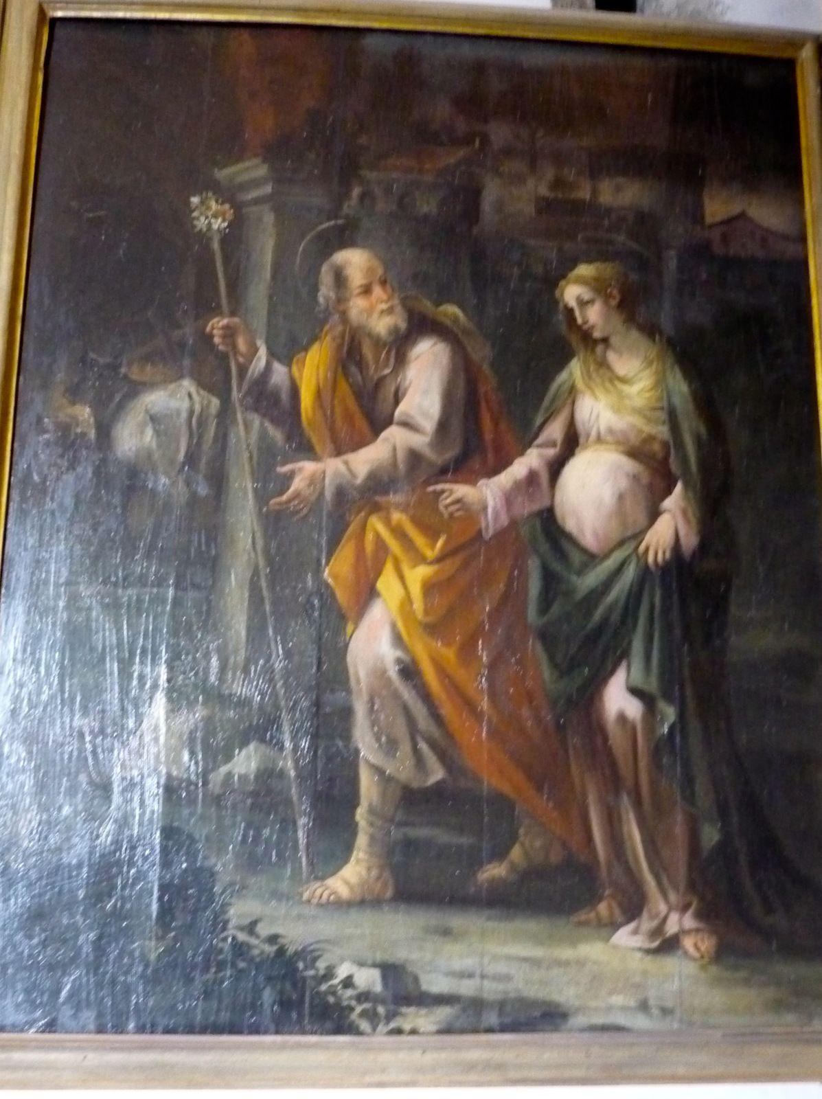 Nicola Russo, Voyage de Marie à Bethléem