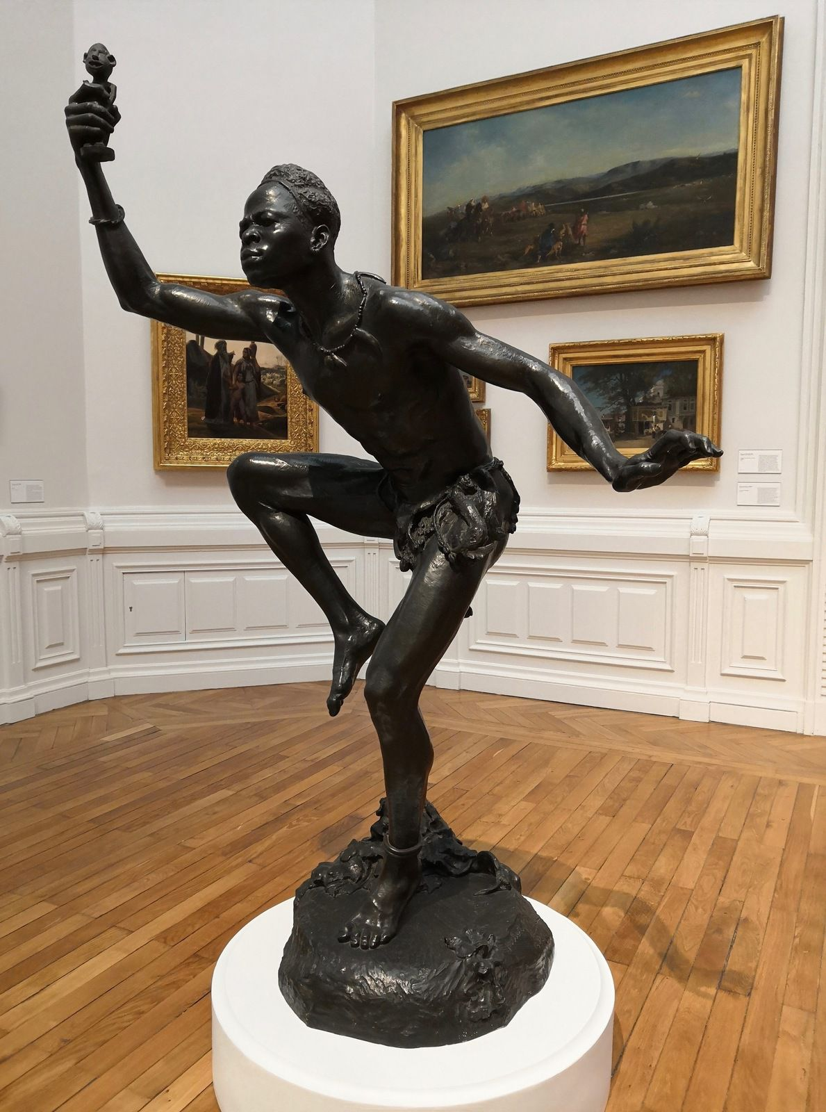 Herbert Ward (1863-1919), le Sorcier, 1902, Bronze