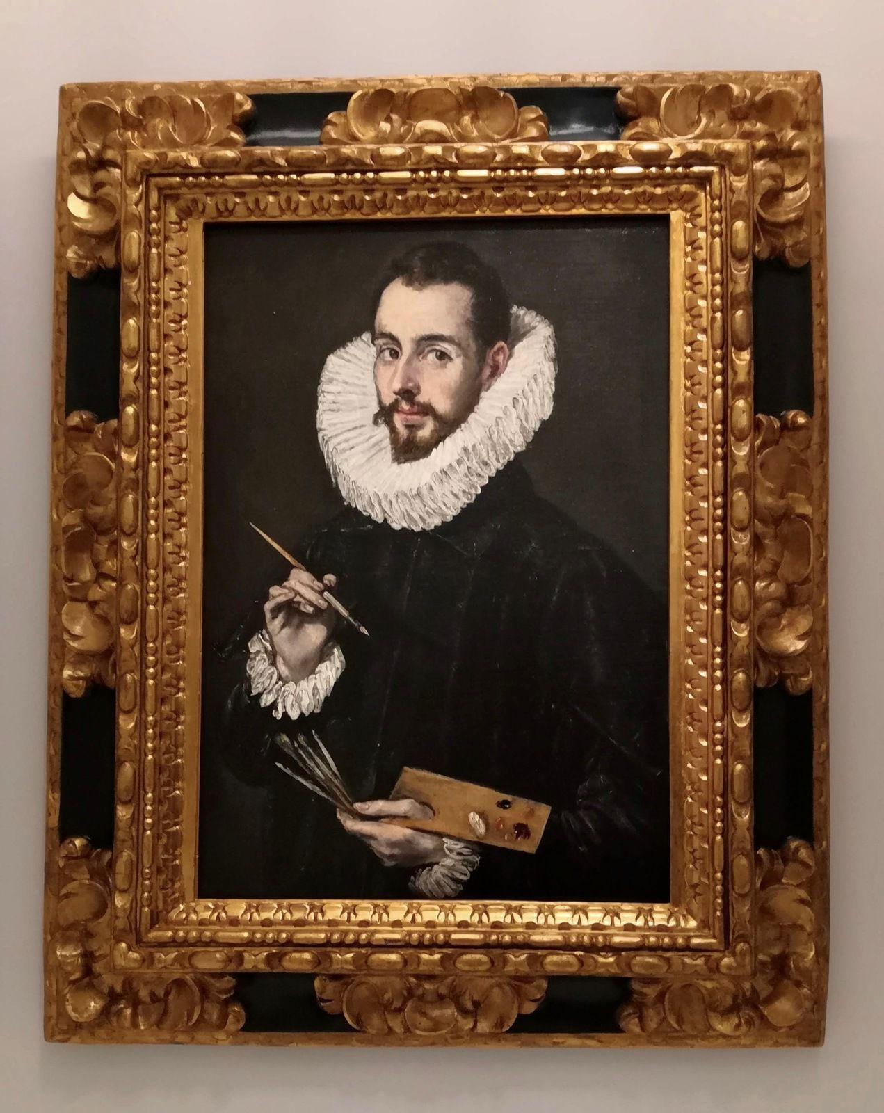 Portrait de Jorge Manuel Theotokópouli, fils de l'artiste, Séville, Museo de Bellas Artes de Sevilla