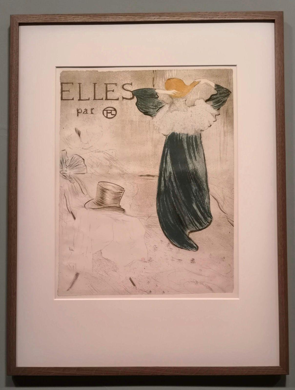 Elles, série de dix lithographies (frontispice), Paris, Bibliothèque nationale de France, département des Estampes et de la Photographie