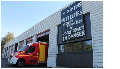 La CGT du Conseil Départemental au coté des Pompiers Ardennais