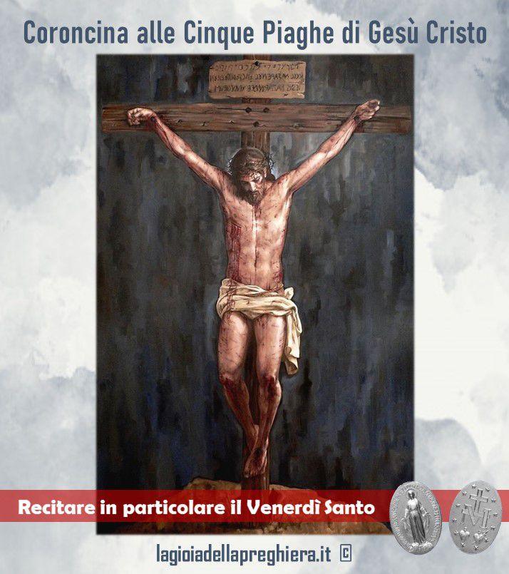 Coroncina alle cinque Piaghe di Nostro Signore Gesù Cristo