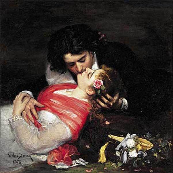 Carolus-Duran - Le baiser