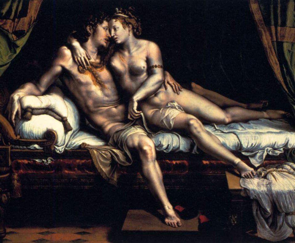 Guilio Romano - Les amours de Cupidon
