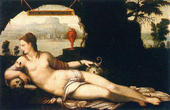 Jean Cousin - Eva Prima Pandora 1538