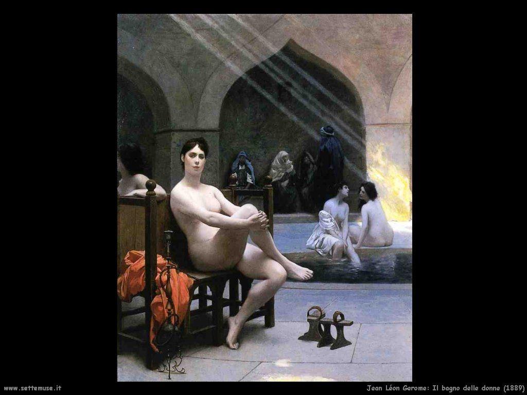 Jean-Léon Gérôme - Bain des femmes, 1889