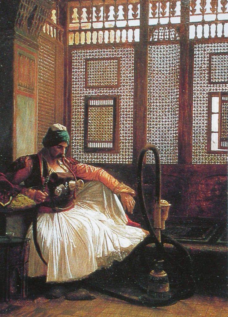 Jean-Léon Gérôme - Arnaute fumant, 1865