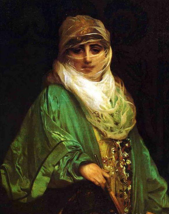 Jean-Léon Gérôme - Femme de contantinople, 1876