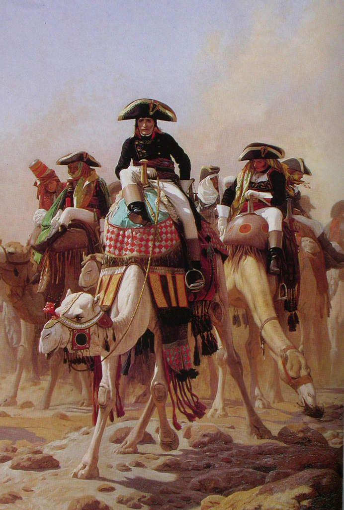 Jean-Léon Gérôme - Napoléon et son Etat major en Egypte