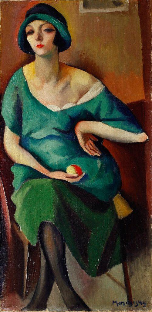Maurice Mendjiki -  Kiki de Montparnasse 1921
