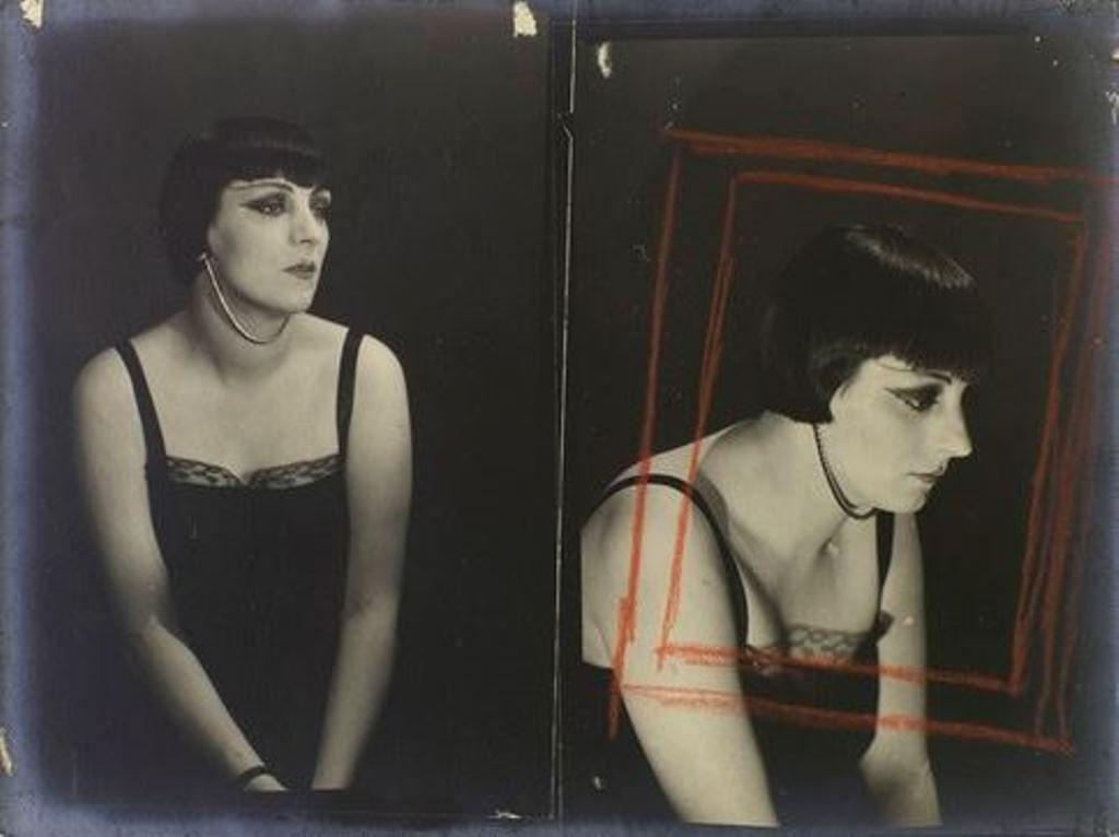 Man Ray - Kiki de Montparnasse vers 1924.