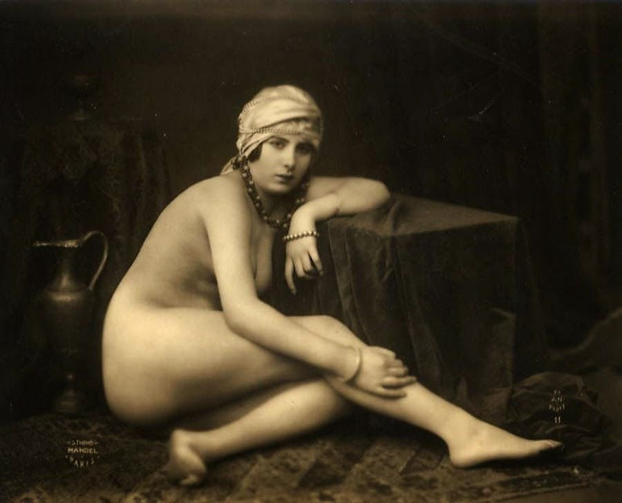 Julian Mendal  - Kiki de Montparnasse c. 1920