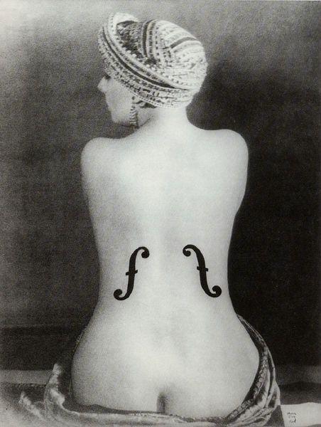 Man Ray - Le violon D'Ingres (Kiki de Montparnasse) 1924