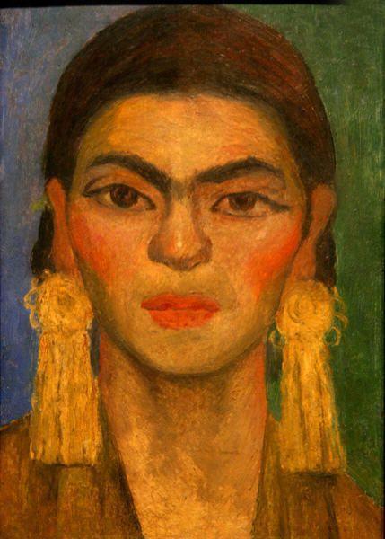 Diego Rivera - Portrait de Frida Kahlo, compagne du peintre, 1938