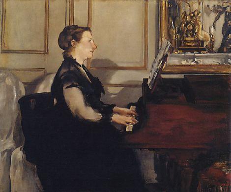 Edouard Manet - La lecture (Suzanne la femme de l'artiste), 1873