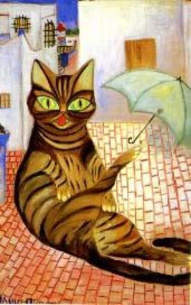 Nahui Olin - Le chat
