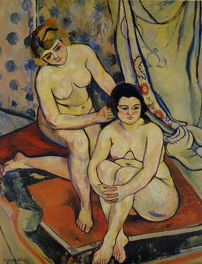 Suzanne Valadon - Les deux baigneuses, 1923