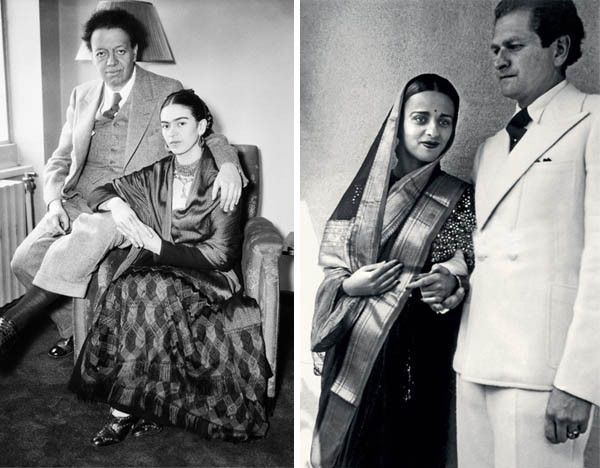 Frida, Diego Rivera et Amrita Sher-Gil et Victor