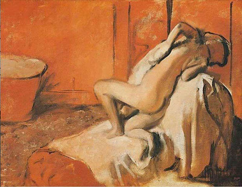 Degas - Femme s'essuyant, 1896