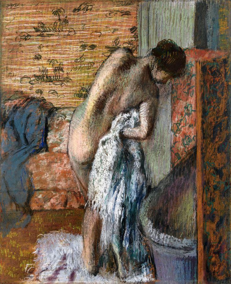 Degas - Après le bain, 1896