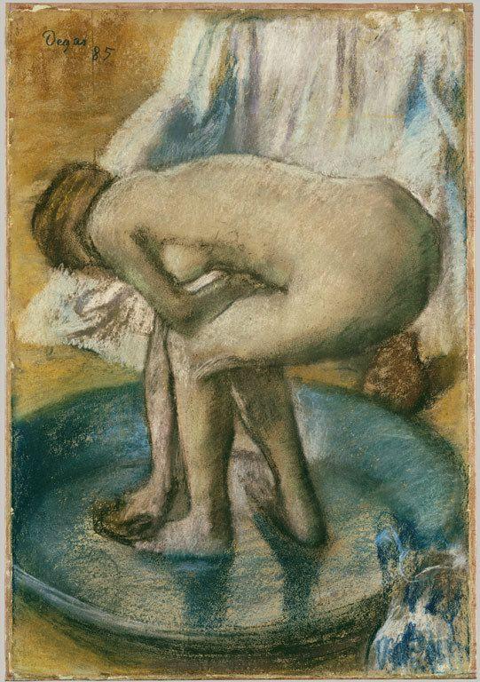 Degas - Le tub, 1885