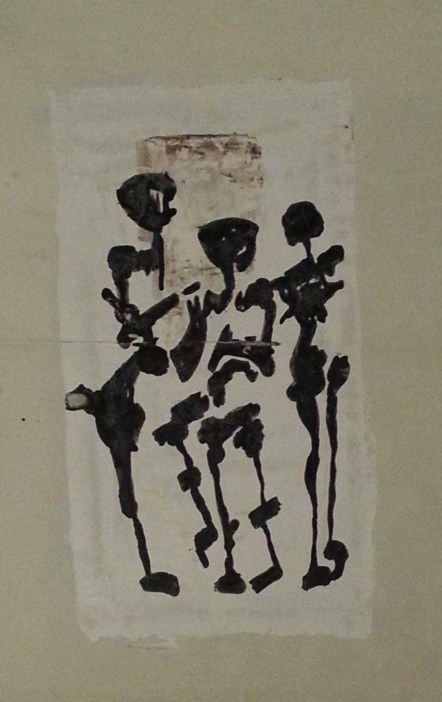 Bellakh - Afrique, TM sur papier 37x21, 1992