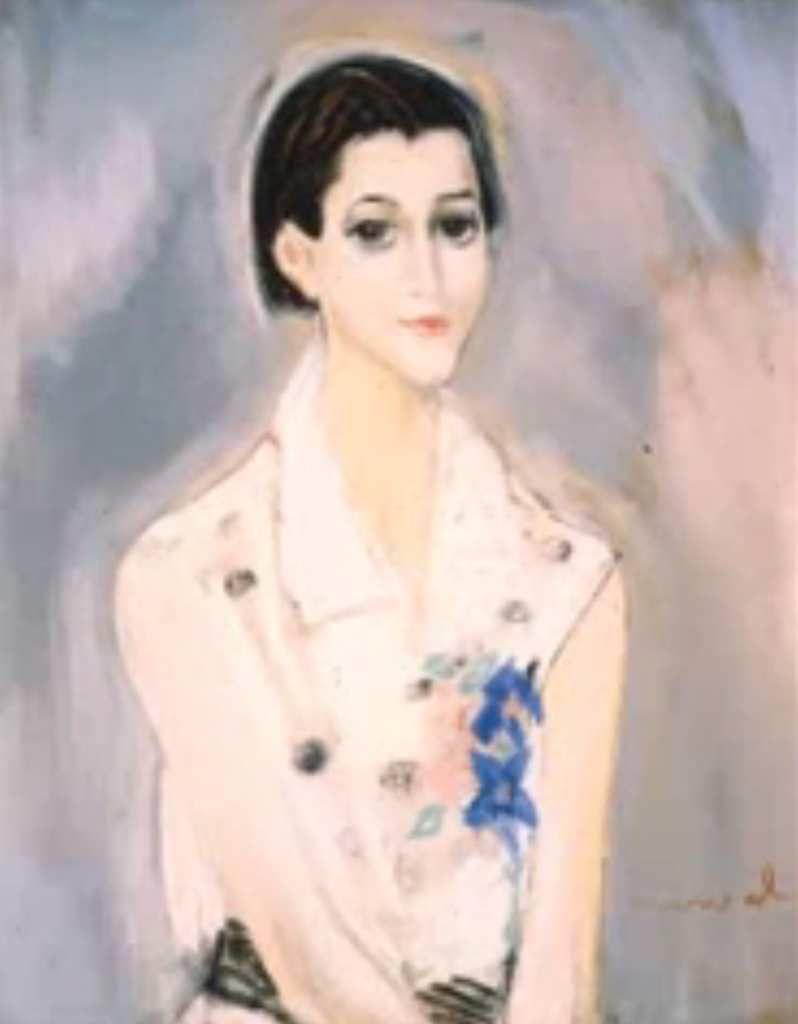 Jacqueline Marval - Portrait, s.d.