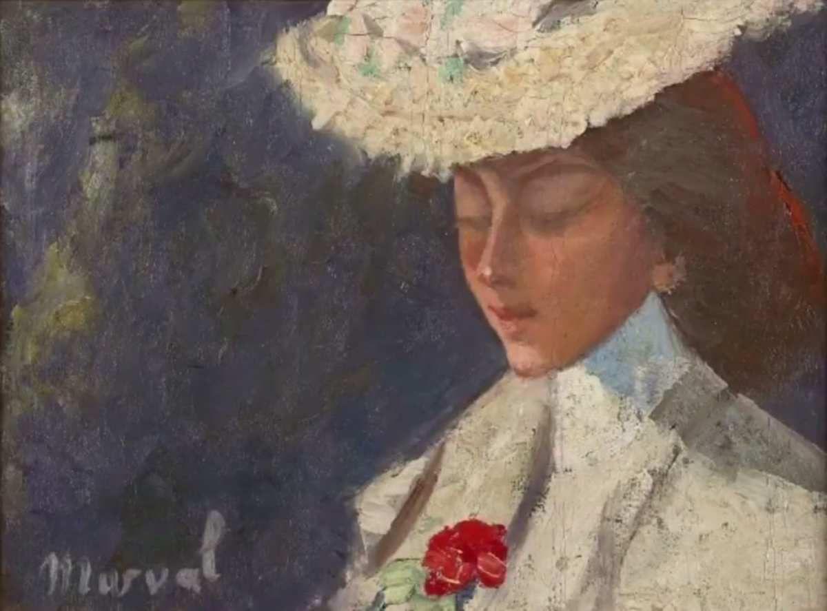 Jacqueline Marval - Autoportrait, s.d.