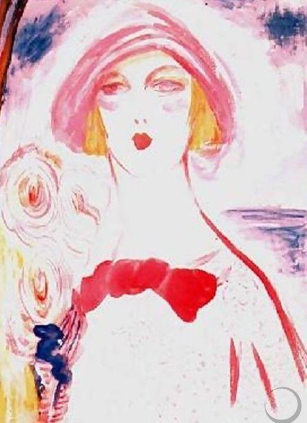 Jacqueline Marval - Portrait de femme, s.d.