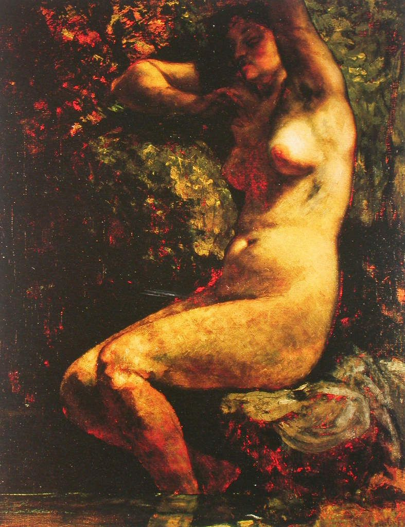 Gustave Courbet - Baigneuse, 1866/1868